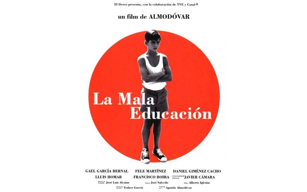 Locandina del film La Mala Educación