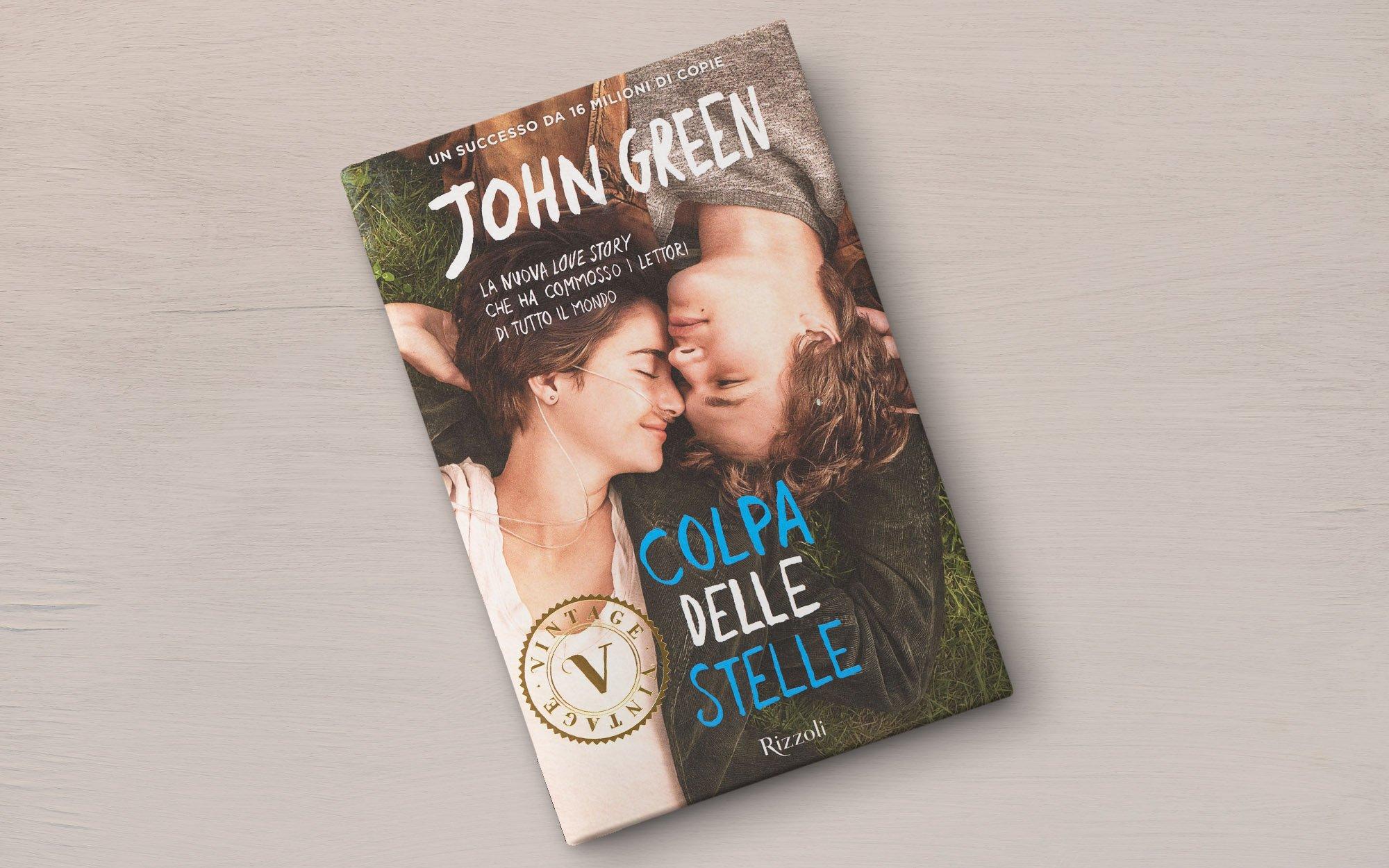 copertina Colpa delle stelle di John Green